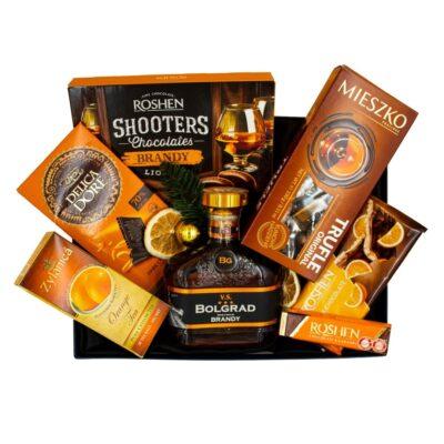 zestaw prezentowy z brandy