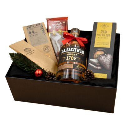 zestaw prezentowy z whisky Baczewski