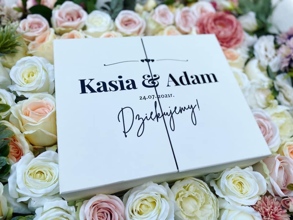 Zestaw prezentowy z personalizacją ślubną