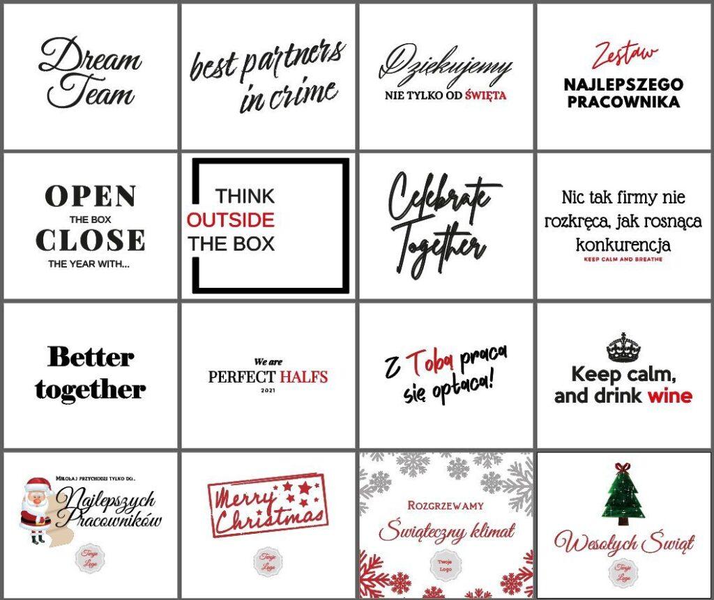 personalizacja zestawów prezentowych